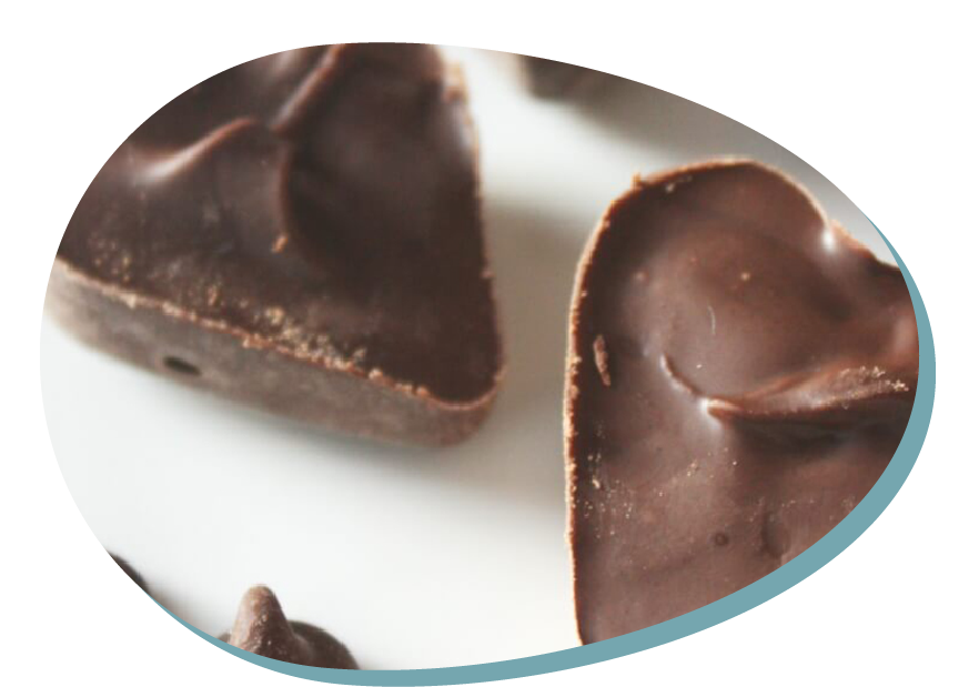 Chocolate science reversible change